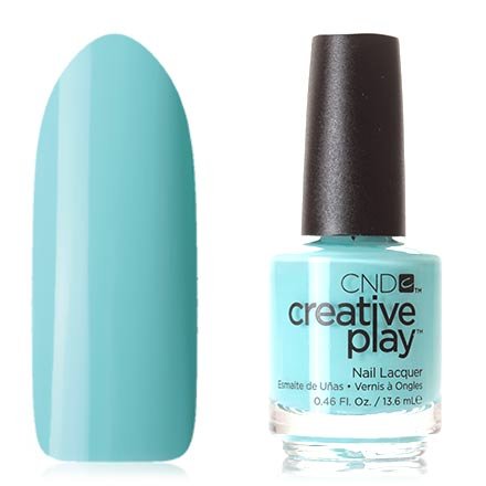 CND Creative Play, цвет Amuse-mint, 13,6 мл cnd лосьон creative scentsations wildflower