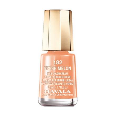 Купить Mavala, Лак для ногтей №182, Fresh Melon, Оранжевый