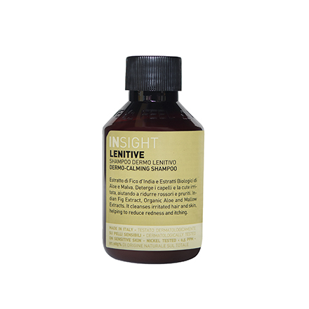 INSIGHT, Смягчающий шампунь Lenitive, 100 млШампуни для волос<br>Очищающее средство для волос, снимающее раздражение. Подходит для чувствительной кожи головы.