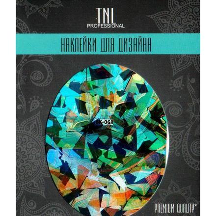 TNL Professional TNL, Наклейка-фольга Premium Quality BK-068