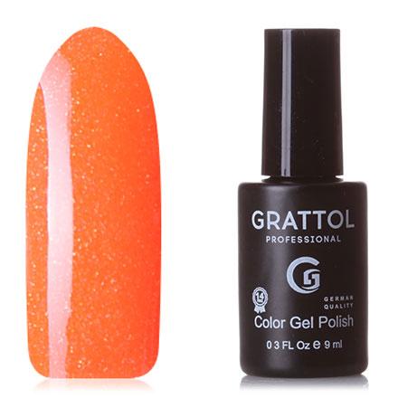 Купить Grattol, Гель-лак Luxury Stones, Rainbow №05, Оранжевый