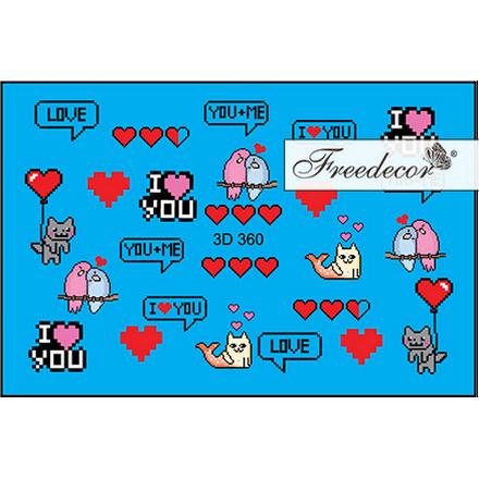 Купить Freedecor, 3D-слайдер №360