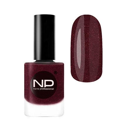 Nano Professional, Лак для ногтей №P-1506, Пьяная вишня красного цвета