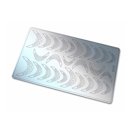 Купить Freedecor, Металлизированные наклейки №117, серебро