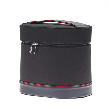 Dewal, Сумка для парикмахерских инструментов, черно-красная, 27х20х27,5 см фото