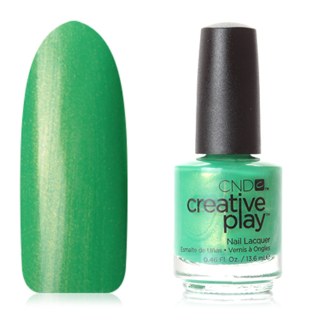 CND Creative Play, цвет Love It or Leaf It, 13,6 мл cnd лосьон creative scentsations wildflower