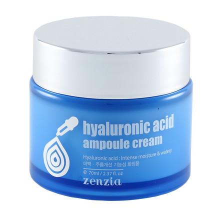 Купить Zenzia, Крем для лица Hyaluronic Acid, 70 мл