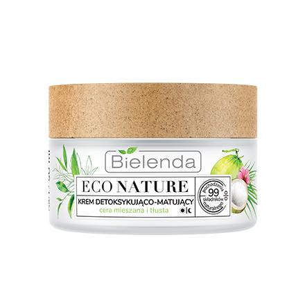 Купить Bielenda, Крем-детокс для лица Eco Nature, 50 мл