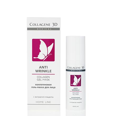 Купить Medical Collagen 3D, Гель-маска для лица Anti Wrinkle, 30 мл, Medical Collagene 3D