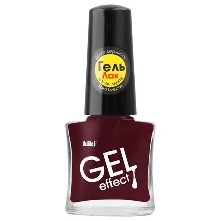 Купить Kiki, Лак для ногтей Gel Effect №013, Коричневый