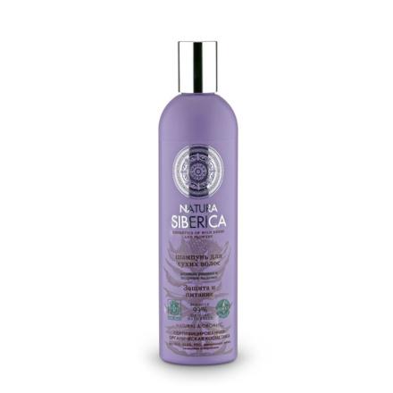 Natura Siberica, Шампунь «Защита и питание», 400 млШампуни для волос<br>Очищающее средство для сухих волос.