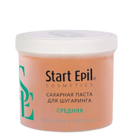 Start Epil, Сахарная паста для шугаринга «Средняя» , 750 г