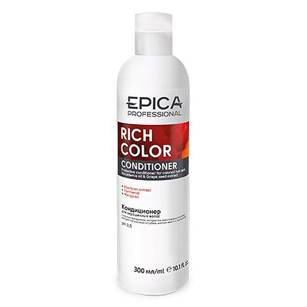 Epica, Кондиционер Rich Color, 300 мл chi luxury black seed oil curl defining cream gel