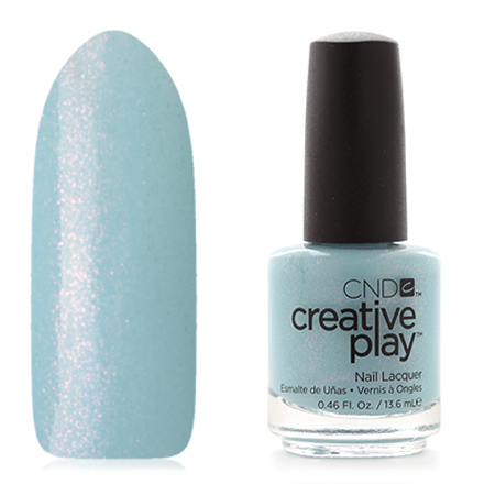 CND Creative Play, цвет Isle Never Let Go, 13,6 мл cnd лосьон creative scentsations wildflower