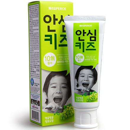 Купить Perioe, Детская зубная паста Green Grape, 80 г