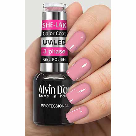 Купить Alvin D'or, Гель-лак №3507, Розовый