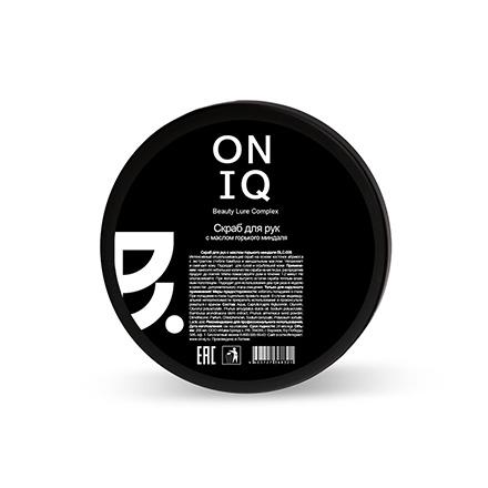 ONIQ, Скраб для рук с ароматом горького миндаля, 240 гСкрабы и пилинги<br>Скраб для сухой кожи рук.