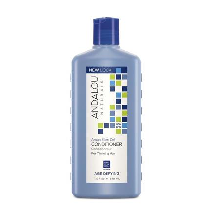 Andalou Naturals, Кондиционер для ослабленных волос «Стволовые клетки арганы», 340 мл chi luxury black seed oil curl defining cream gel
