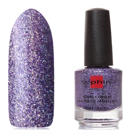 Sophin, Лак для ногтей №0380, Alluring AmethystSophin<br>Лак для ногтей (12 мл) аметистовый, с голографическими блестками, полупрозрачный.<br><br>Цвет: Фиолетовый<br>Объем мл: 12.00