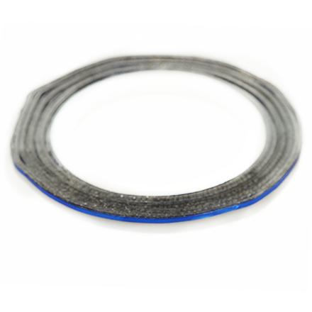 TNL, Нить на клеевой основе, синяяНити<br>Аксессуар для украшения ногтей.<br>