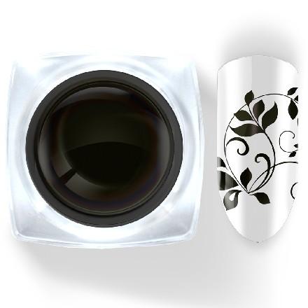 Купить Cosmake, Гель-краска Premium №2, без липкого слоя, черная, Черный
