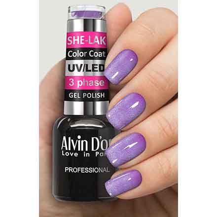 Купить Alvin D'or, Гель-лак №3573, Фиолетовый