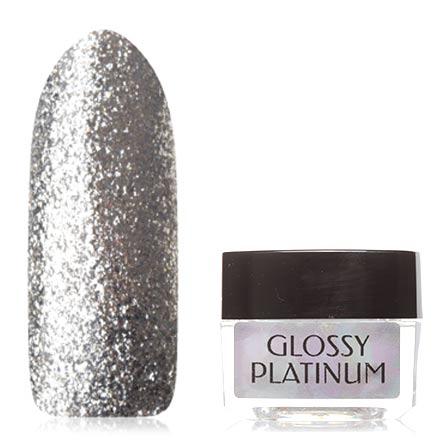 Irisk, Гель-лак Glossy Platinum №1Irisk Professional трехфазный шеллак<br>Гель-лак (5 мл) серебристый, с большим количеством фольги, плотный.<br><br>Цвет: Серебряный<br>Объем мл: 5.00
