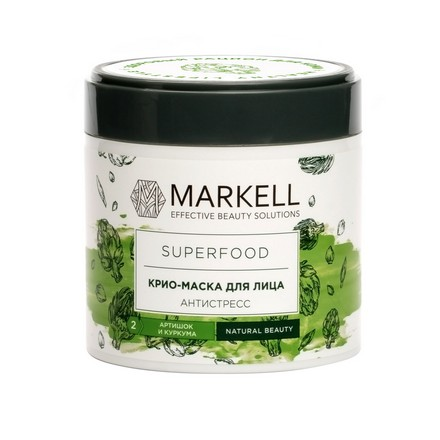 Купить Markell, Крио-маска для лица Superfood «Антистресс», 100 мл
