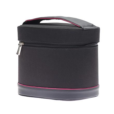 Купить Dewal, Сумка для парикмахерских инструментов, черно-розовая, 25х18х20, 5 см