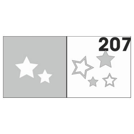 Airnails, Трафареты №207Трафареты для маникюра<br>Набор многоразовых клеевых трафаретов для аэрографии на ногтях из высокоэластичной пленки.<br>