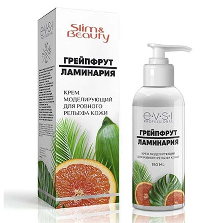 Купить EVSI, Крем для тела Slim & Beauty «Грейпфрут и ламинария», 150 мл