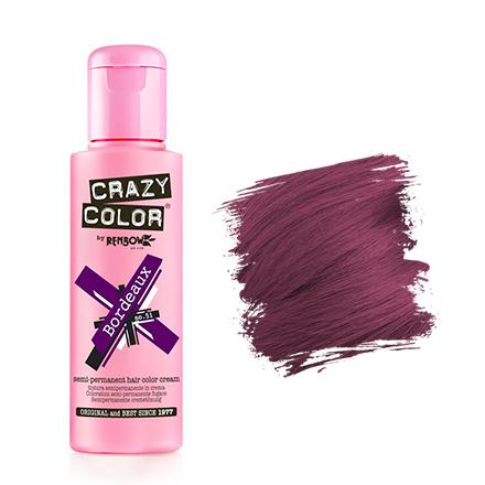 Crazy Color, Краска для волос №51, Bordeaux