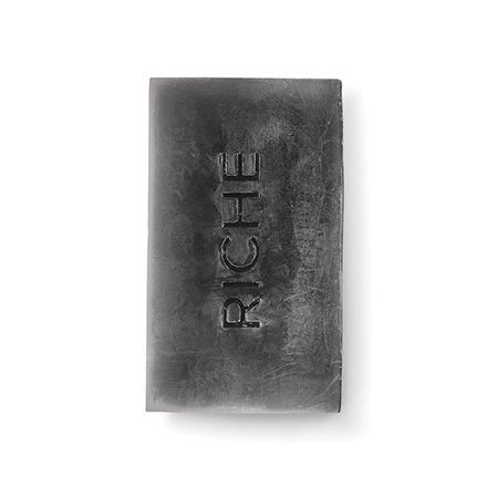 Riche, Натуральное detox-мыло с черной глиной, 130 г