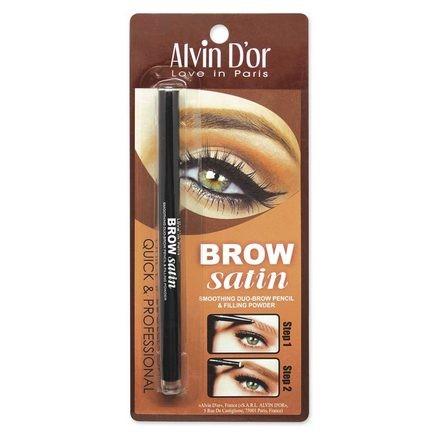Купить Alvin D`or, Карандаш-пудра для бровей Brow Satin, тон 01, Alvin D'or