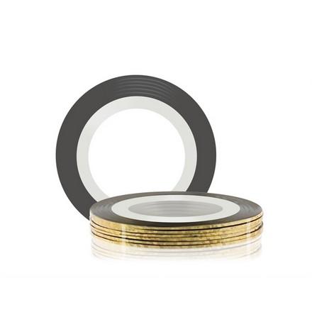 Купить RuNail, Самоклеющаяся лента для дизайна ногтей, золотая, 20 м