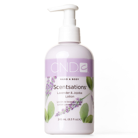 CND, Лосьон Creative Scentsations Lavender & Jojoba, 245 мл cnd лосьон для рук и тела береза и мята cnd scentsations lotion birch and mint 14115 245 мл