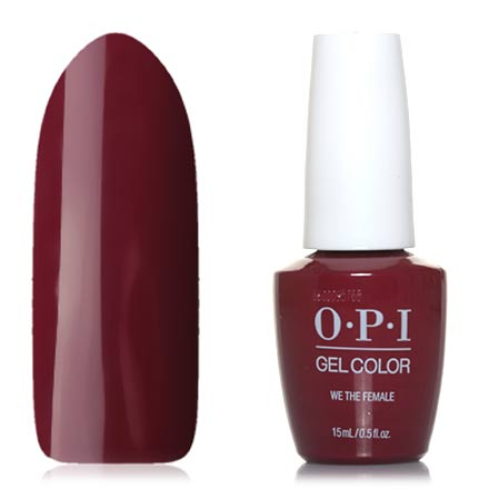 OPI GelColor, Гель-лак We the Female opi gelcolor гель лак i sea you wear opi gca73