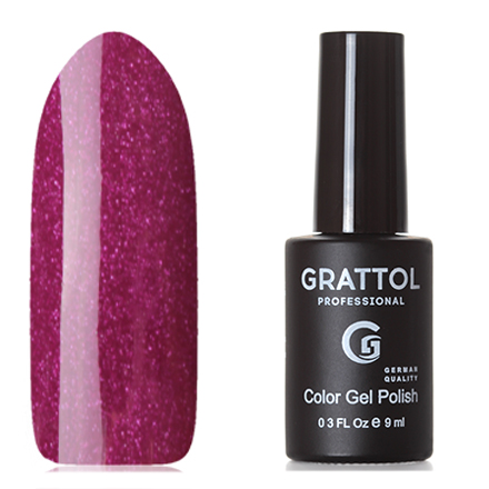 Grattol, Гель-лак Classic Collection №080, Shining Ruby grattol топ rubber top gel 9 мл