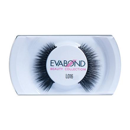 Купить EVABOND, Ресницы накладные L016, черные