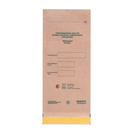 Медтест, Крафт пакеты для стерилизации, 75х150 мм