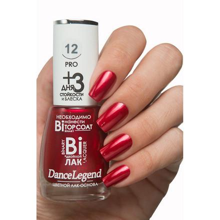 Купить Dance Legend, Лак для ногтей Binary PRO №12 Karina, Красный