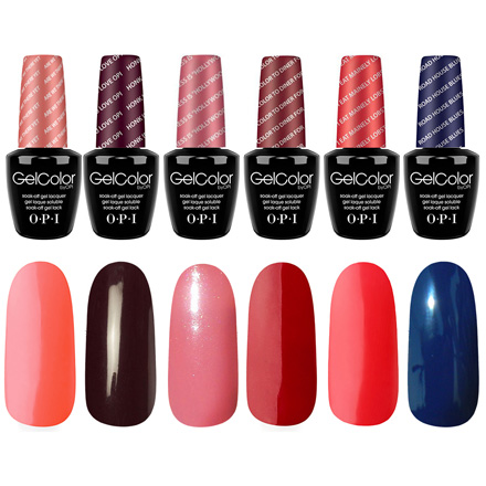OPI GelColor, The Thrill-Seekers Kit