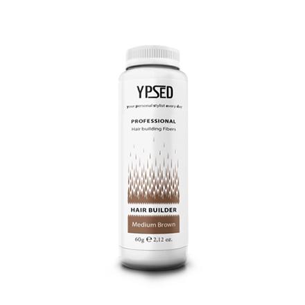 Ypsed, Камуфляж для волос Professional, Мedium brown, 60 гЗагустители для волос<br>Средство для маскировки пробора и небольших залысин. Цвет: средне-коричневый.