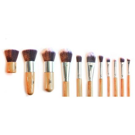 TNL, Набор кистей для макияжа в мешочке tnl набор кистей 3 шт