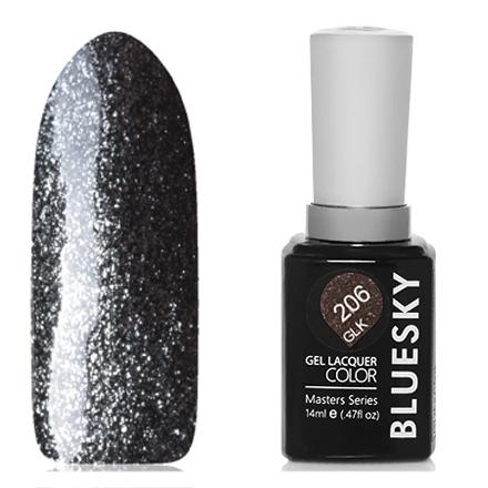 Купить Bluesky, Гель-лак Masters Series «Звездное небо» №206, Черный