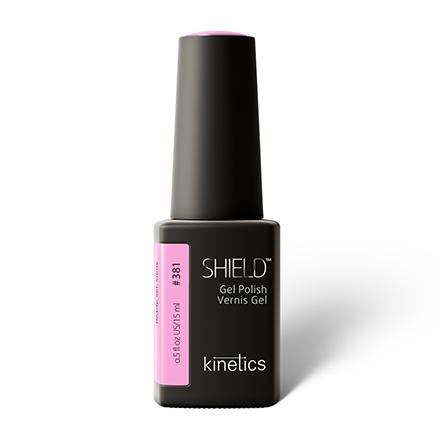 Kinetics, Гель-лак Shield №381, 15 мл, Розовый  - Купить