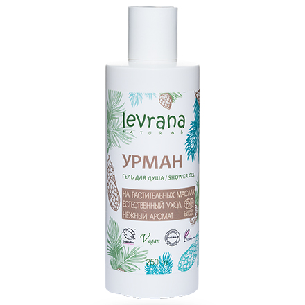Купить Levrana, Гель для душа «Урман», 250 мл
