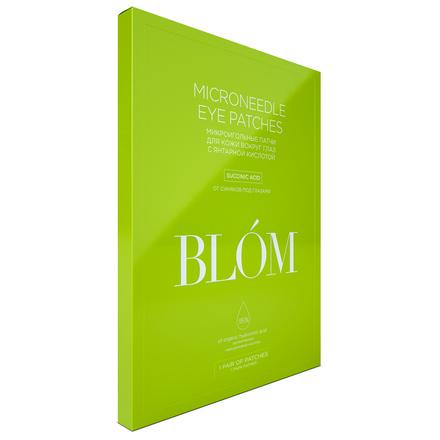 Купить BLOM, Патчи для глаз «Янтарная кислота», 1 пара, BLÓM