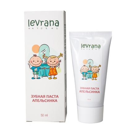 Купить Levrana, Зубная паста детская «Апельсинка», 50 мл