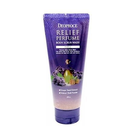 Deoproce, Скраб для тела Relief Perfume Purple, 200 гСкрабы и пилинги<br>Скраб с маслом виноградных косточек.